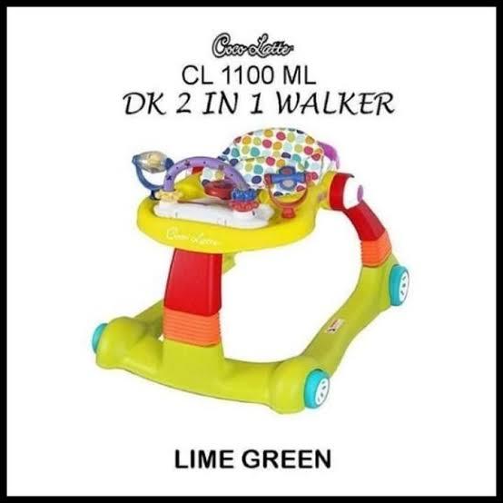 COCOLATTE WALKER 2 IN 1 LIME GREEN