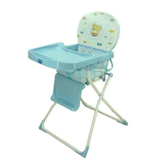 PLIKO BABY DELUXE HIGH CHAIR BLUE