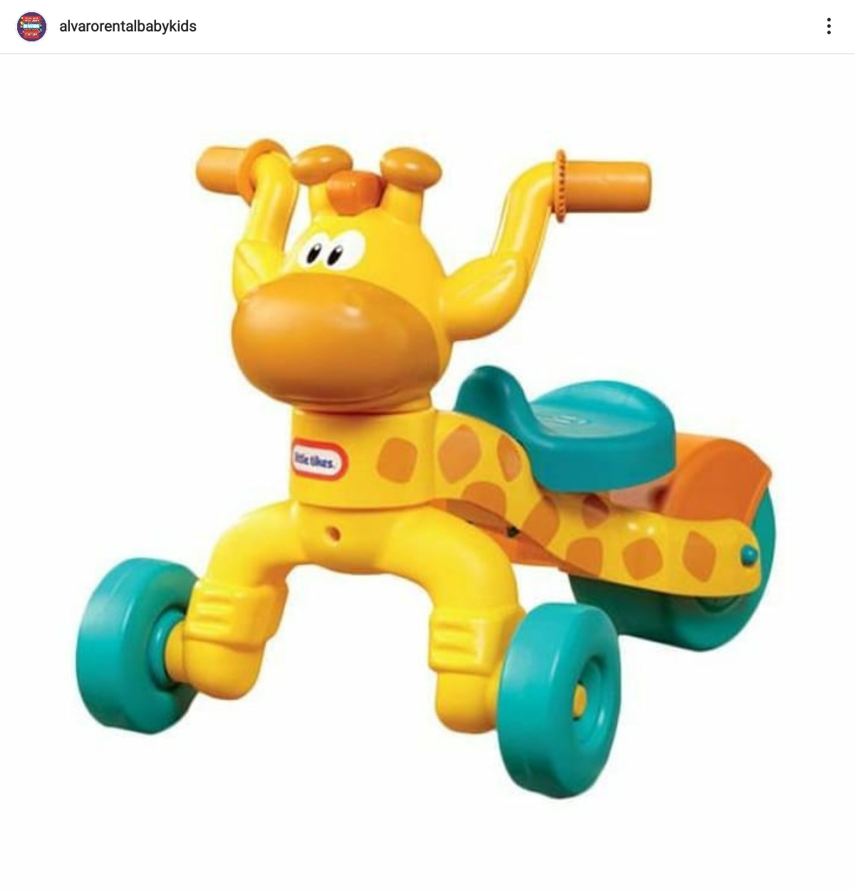 LITTLE TIKES GO AND GROW LIL ROLLING GIRRAFFE