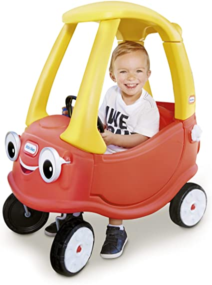 LITLE TIKES COZY COUPE MOBIL MERAH KUNING