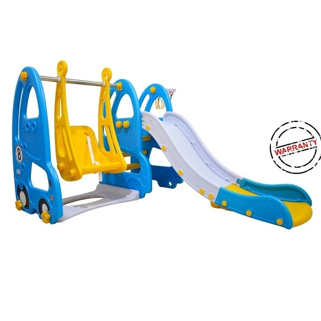 OTTO BLUE SLIDE AND SWING