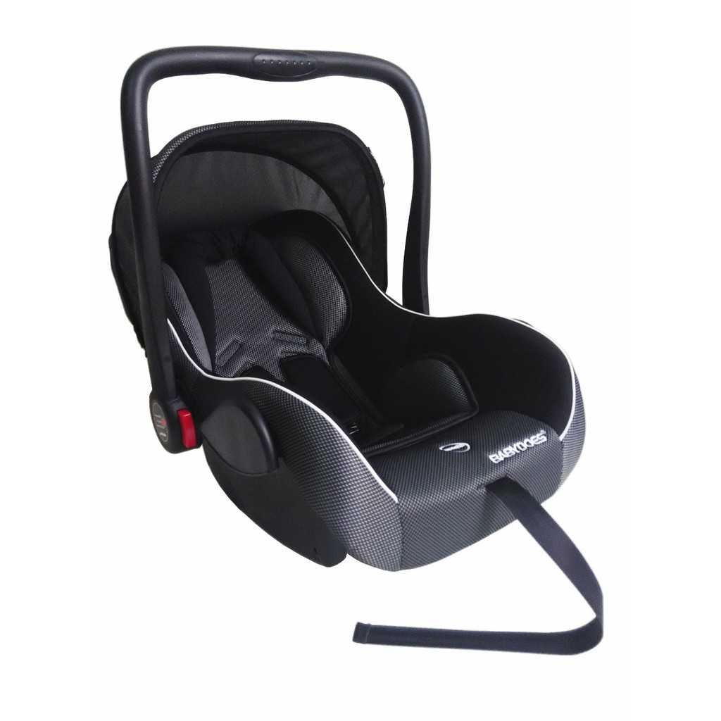 CARSEAT BABYDOES CARRIER HITAM