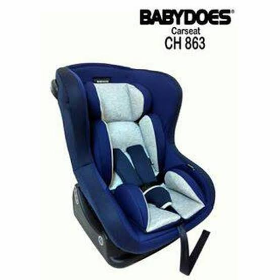 BABYDOES ROCKWELL NAVY CARSEAT